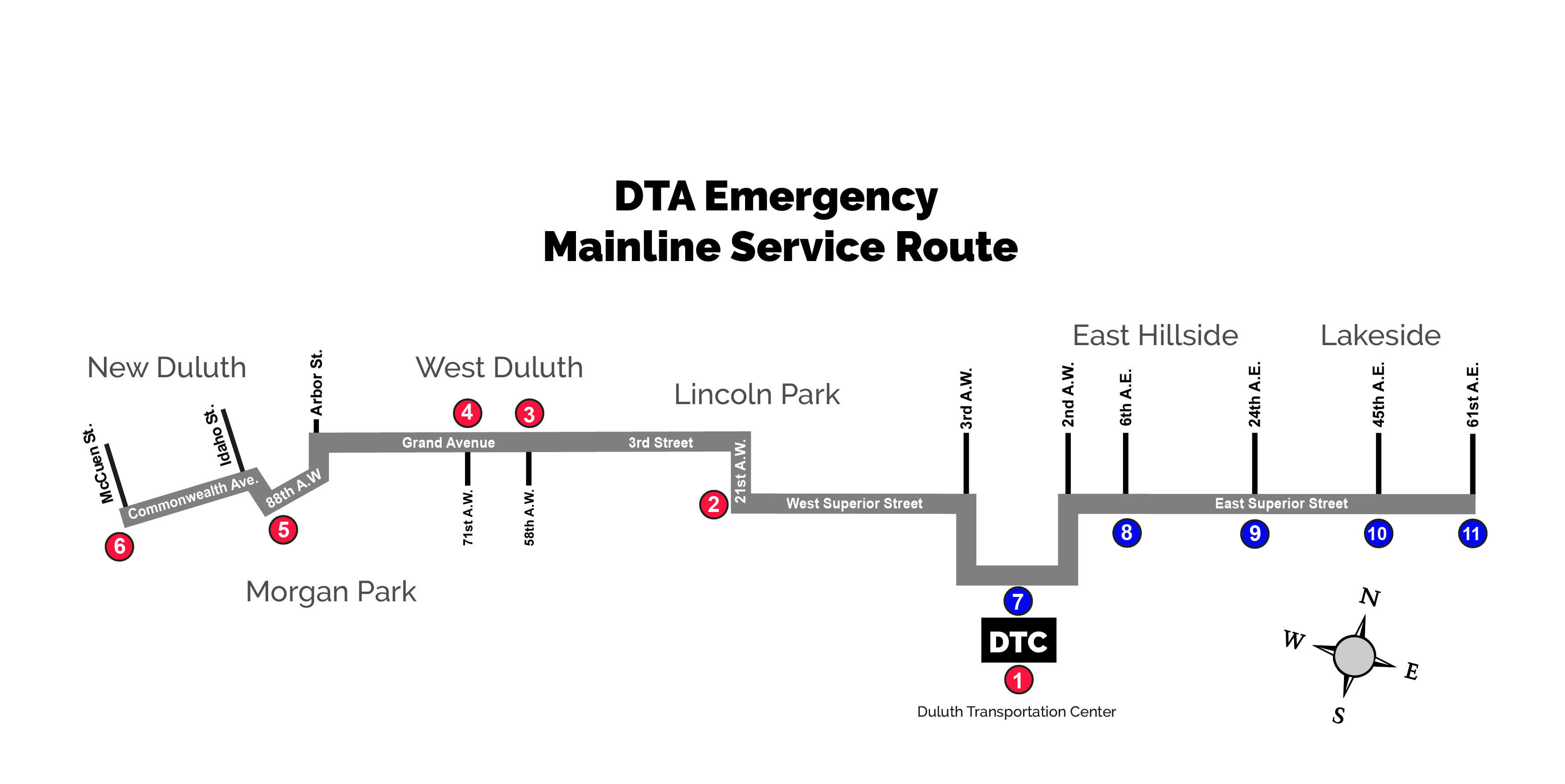 Holiday/Weather Guide - Duluth Transit Authority on