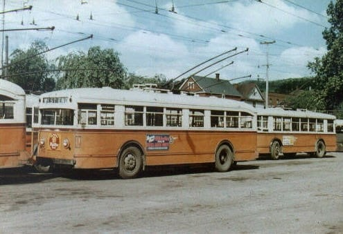Buses Replace Streetcars