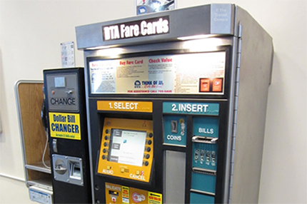 Transit Vending Machines